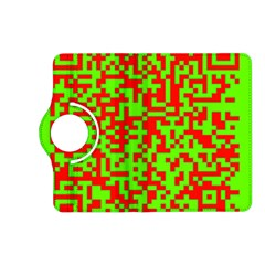 Colorful Qr Code Digital Computer Graphic Kindle Fire Hd (2013) Flip 360 Case by Simbadda