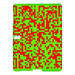 Colorful Qr Code Digital Computer Graphic Samsung Galaxy Tab S (10 5 ) Hardshell Case  by Simbadda