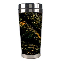 Abstract Background Stainless Steel Travel Tumblers by Simbadda