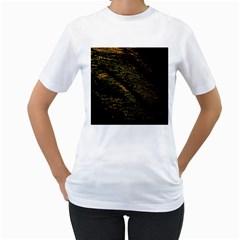 Abstract Background Women s T Shirt (white)  by Simbadda