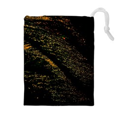 Abstract Background Drawstring Pouches (extra Large) by Simbadda