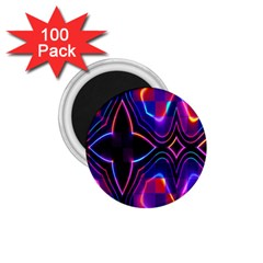 Rainbow Abstract Background Pattern 1 75  Magnets (100 Pack)  by Simbadda