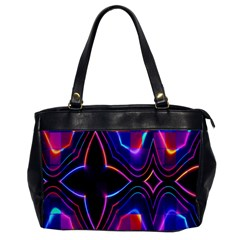 Rainbow Abstract Background Pattern Office Handbags by Simbadda