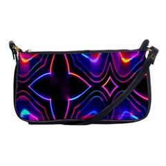 Rainbow Abstract Background Pattern Shoulder Clutch Bags by Simbadda