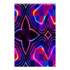 Rainbow Abstract Background Pattern Shower Curtain 48  X 72  (small)  by Simbadda