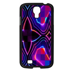 Rainbow Abstract Background Pattern Samsung Galaxy S4 I9500/ I9505 Case (black) by Simbadda
