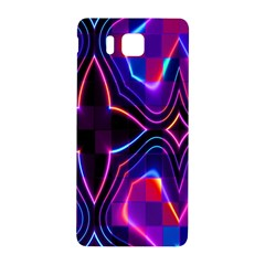 Rainbow Abstract Background Pattern Samsung Galaxy Alpha Hardshell Back Case by Simbadda