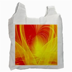Realm Of Dreams Light Effect Abstract Background Recycle Bag (two Side)  by Simbadda