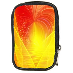 Realm Of Dreams Light Effect Abstract Background Compact Camera Cases by Simbadda