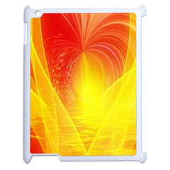 Realm Of Dreams Light Effect Abstract Background Apple Ipad 2 Case (white) by Simbadda
