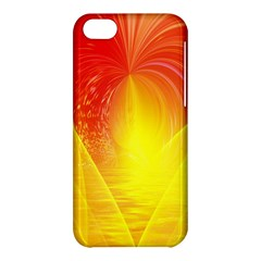 Realm Of Dreams Light Effect Abstract Background Apple Iphone 5c Hardshell Case by Simbadda