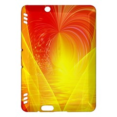 Realm Of Dreams Light Effect Abstract Background Kindle Fire Hdx Hardshell Case by Simbadda