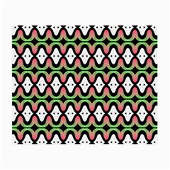 Abstract Pinocchio Journey Nose Booger Pattern Small Glasses Cloth (2 Side) by Simbadda