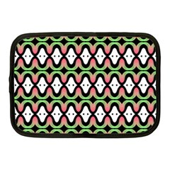 Abstract Pinocchio Journey Nose Booger Pattern Netbook Case (medium)  by Simbadda