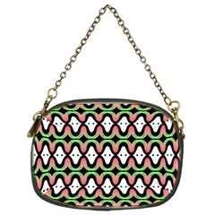Abstract Pinocchio Journey Nose Booger Pattern Chain Purses (one Side)  by Simbadda