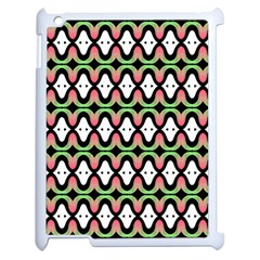 Abstract Pinocchio Journey Nose Booger Pattern Apple Ipad 2 Case (white)