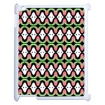 Abstract Pinocchio Journey Nose Booger Pattern Apple iPad 2 Case (White) Front
