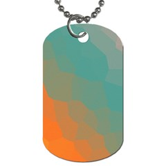 Abstract Elegant Background Pattern Dog Tag (one Side) by Simbadda