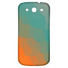 Abstract Elegant Background Pattern Samsung Galaxy S3 S Iii Classic Hardshell Back Case by Simbadda