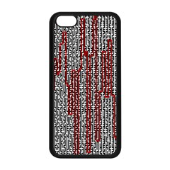 Abstract Geometry Machinery Wire Apple Iphone 5c Seamless Case (black) by Simbadda