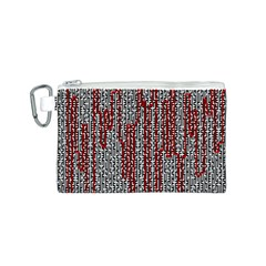 Abstract Geometry Machinery Wire Canvas Cosmetic Bag (s) by Simbadda