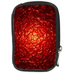 Abstract Red Lava Effect Compact Camera Cases by Simbadda