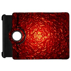 Abstract Red Lava Effect Kindle Fire Hd 7  by Simbadda