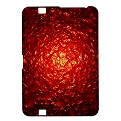 Abstract Red Lava Effect Kindle Fire Hd 8 9  by Simbadda