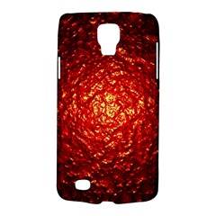 Abstract Red Lava Effect Galaxy S4 Active by Simbadda