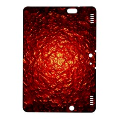 Abstract Red Lava Effect Kindle Fire Hdx 8 9  Hardshell Case by Simbadda