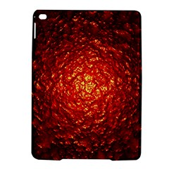 Abstract Red Lava Effect Ipad Air 2 Hardshell Cases by Simbadda