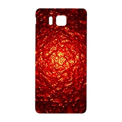 Abstract Red Lava Effect Samsung Galaxy Alpha Hardshell Back Case by Simbadda