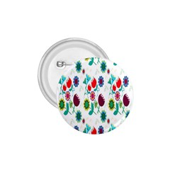 Lindas Flores Colorful Flower Pattern 1 75  Buttons by Simbadda