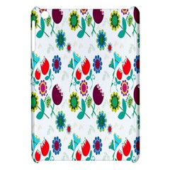 Lindas Flores Colorful Flower Pattern Apple Ipad Mini Hardshell Case by Simbadda