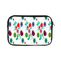 Lindas Flores Colorful Flower Pattern Apple Ipad Mini Zipper Cases by Simbadda