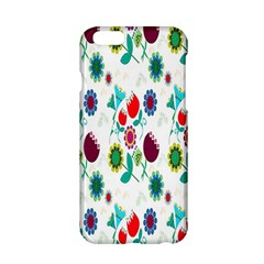 Lindas Flores Colorful Flower Pattern Apple Iphone 6/6s Hardshell Case by Simbadda