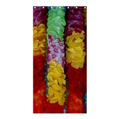 Colorful Hawaiian Lei Flowers Shower Curtain 36  X 72  (stall)  by Simbadda