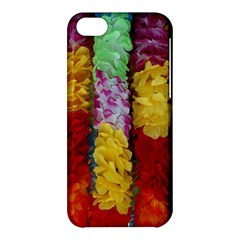 Colorful Hawaiian Lei Flowers Apple Iphone 5c Hardshell Case by Simbadda