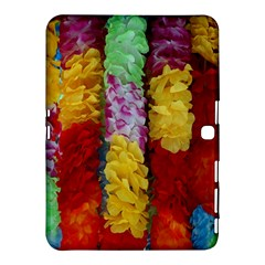 Colorful Hawaiian Lei Flowers Samsung Galaxy Tab 4 (10 1 ) Hardshell Case