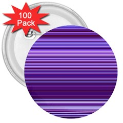 Stripe Colorful Background 3  Buttons (100 Pack)  by Simbadda