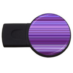 Stripe Colorful Background Usb Flash Drive Round (2 Gb) by Simbadda