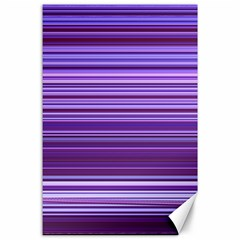 Stripe Colorful Background Canvas 24  X 36  by Simbadda