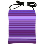 Stripe Colorful Background Shoulder Sling Bags Front