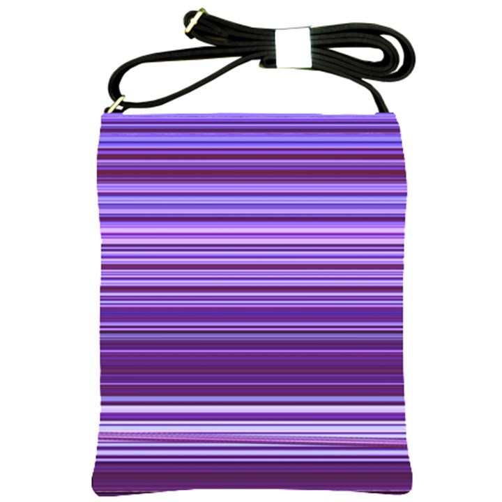 Stripe Colorful Background Shoulder Sling Bags