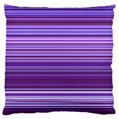 Stripe Colorful Background Standard Flano Cushion Case (Two Sides)