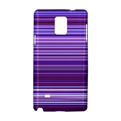 Stripe Colorful Background Samsung Galaxy Note 4 Hardshell Case by Simbadda