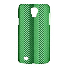 Green Herringbone Pattern Background Wallpaper Galaxy S4 Active by Simbadda