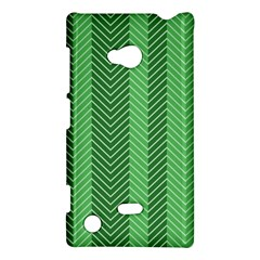 Green Herringbone Pattern Background Wallpaper Nokia Lumia 720 by Simbadda