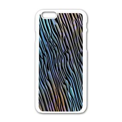 Abstract Background Wallpaper Apple Iphone 6/6s White Enamel Case by Simbadda