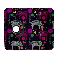 Colorful Elephants Love Background Galaxy S3 (flip/folio) by Simbadda